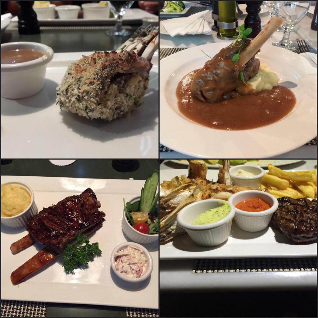 المطاعم الستيك في الرياض