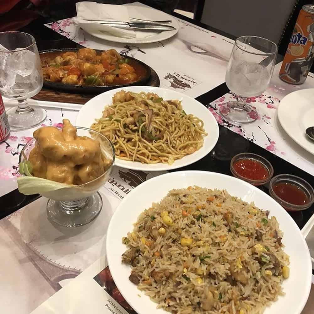 مطاعم صينية شرق الرياض الأسعار المنيو الموقع مطاعم الرياض