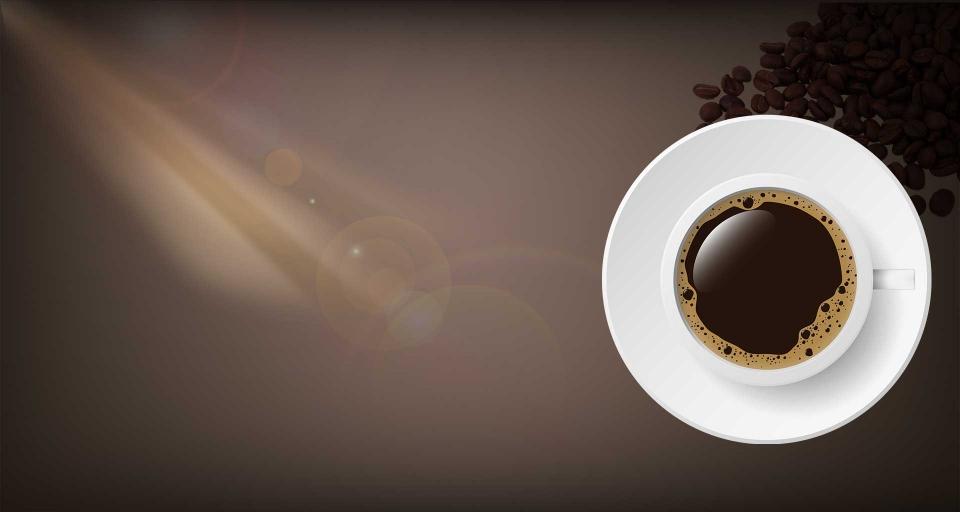 كافيه رمز القهوة.
