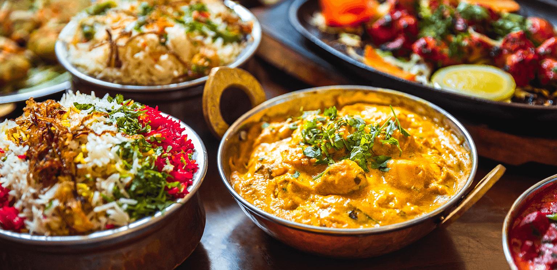 مطعم سبايسي هوم الهندي