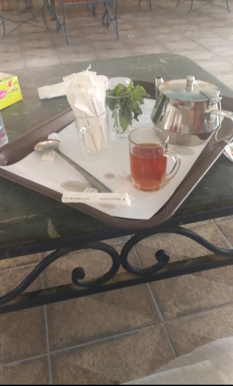مقهى واحة الشلال