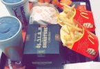 منيو مطعم ماكدونالدز بالاسعار