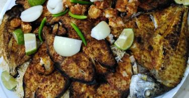 مطعم كوخ السمك
