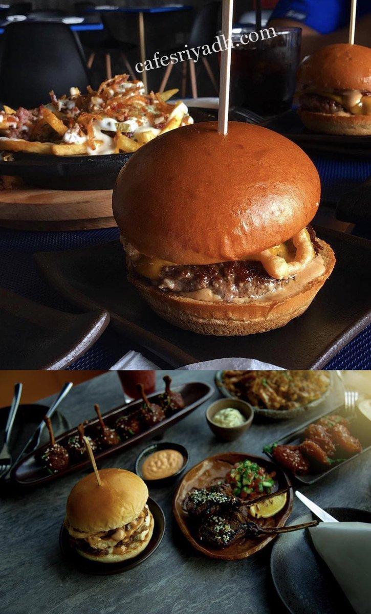 أكلات مطعم bus burger