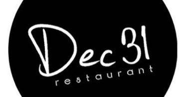 عنوان مطعم ديسمبر 31