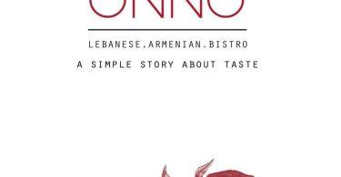 ONNO Restaurant menu
