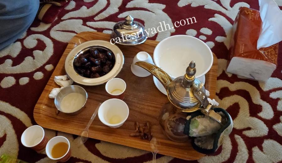 مقهى واحة الدار الرياض